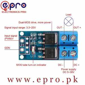 15A 400W mosfet trigger switch drive module PWM Re in Pakistan