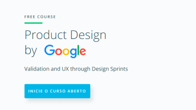 Product Design - Google lança curso gratuito de Product Design em parceria com Udacity