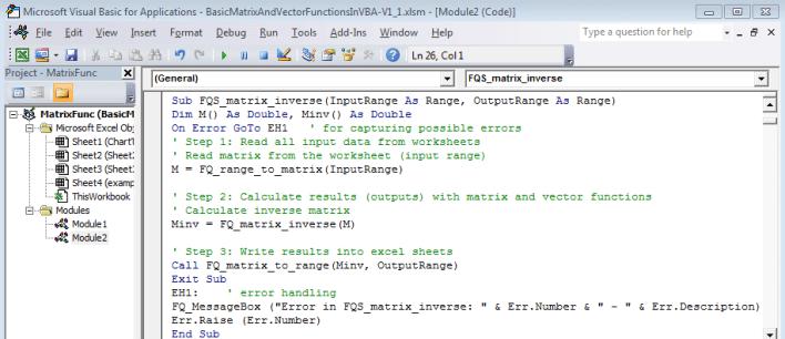 vba - Softwares indispensáveis para Engenheiros de Produção