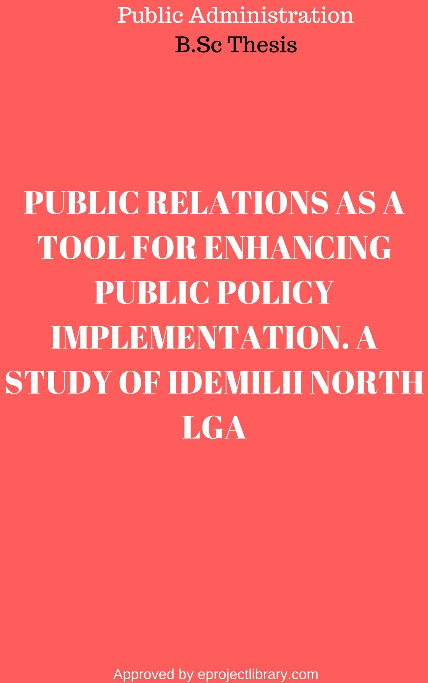 what is public policy implementation