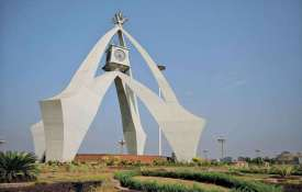 Clock Monument Sector E Bahria Town Lahore