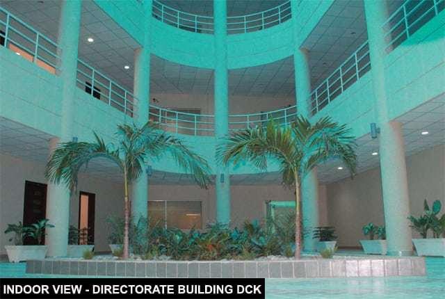 Directorate Building Indoor View DHA City Karachi