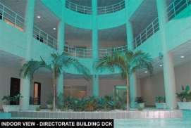 Directorate Building Indoor View DHA City Karachi