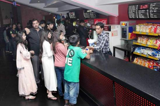 Entertainment at DHA Lahrore Cinema