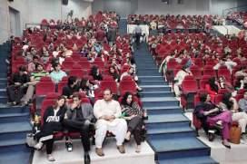 People watching moive in DHA Lahore Cinema