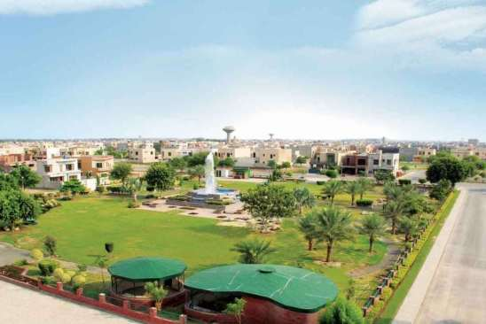 Sector B Park Bahria Town Lahore