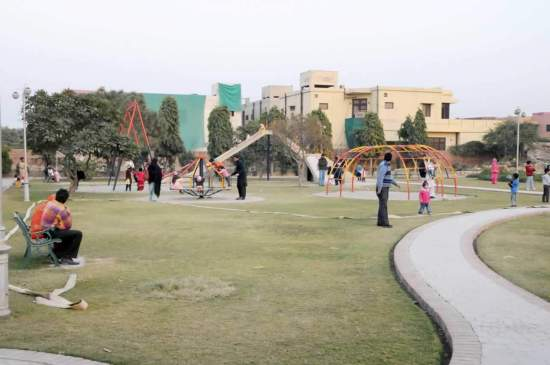 Park in DHA Lahore