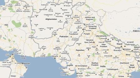 Maps of Pakistan