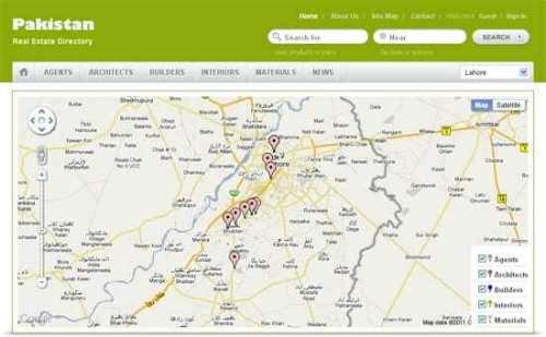 Pakistan Real Estate Property Agents Directory