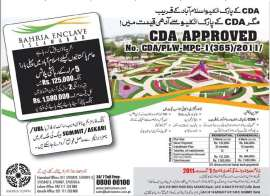 Bahria Enclave Islamabad 5 Marla Plot Booking