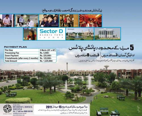 Bahria Town Sector D Lahore