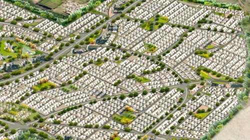 Aerial View DHA Bahawalpur
