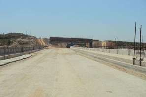 DHA Valley Under Construction Railway Under Pass