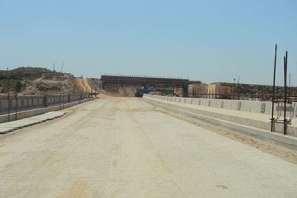 DHA Valley Under Construction Railway Under Pass