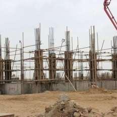 Apartments Site Progress Bahria Town Karachi