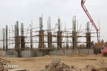 Apartments Site Progress Bahria Town Karachi