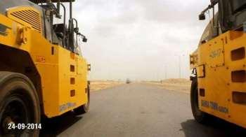 Development Work in Progress Bahria Town Karachi