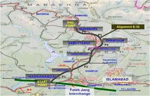 Hazara Expressway E 35