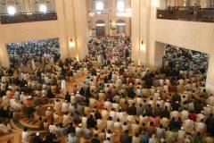 People offering EID Prayer at Bahria Town Lahore Jamia Mosque October 06, 2014-1