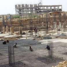 School Site Progress Bahria Town Karachi