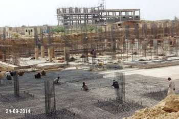 School Site Progress Bahria Town Karachi