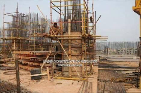 Sheraton Hotel Bahria Golf City Islamabad Development Status July 22, 2014