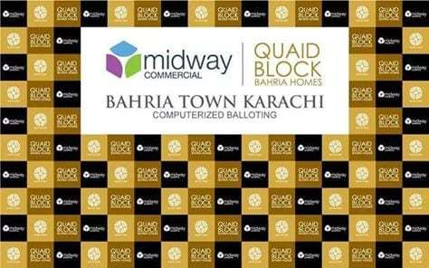 Midway Commercial Quaid Villas and Bahria Homes Balloting