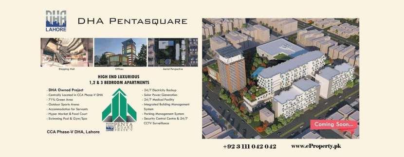 DHA Penta Square Phase 5 Lahore Booking