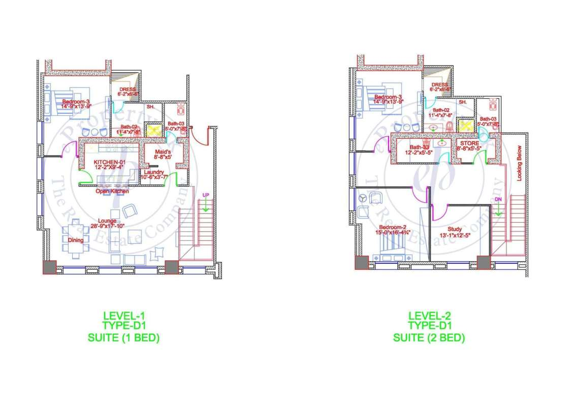 DHA Gold Crest Apartment Type D2