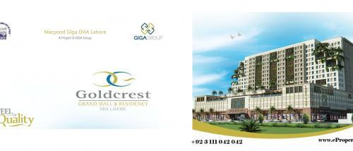 DHA Gold Crest Mall and Residency Booking