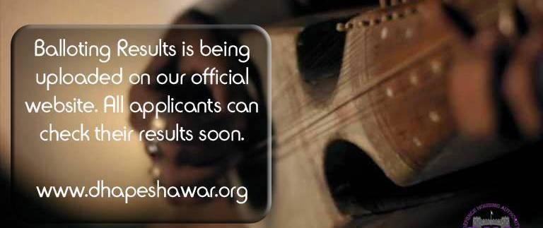 DHA Peshawar Ballot Result Check