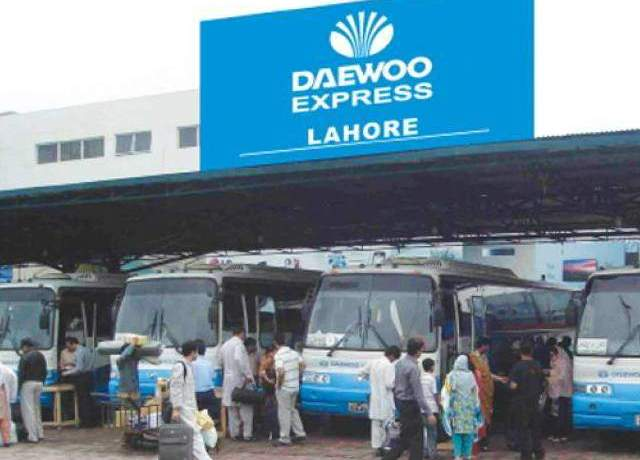 Daewoo Bus Service from DHA Lahore to Railway Station