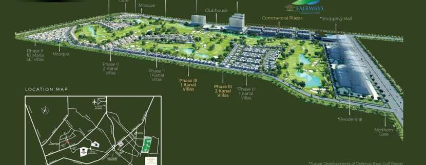 Defence Raya Resort Master Plan