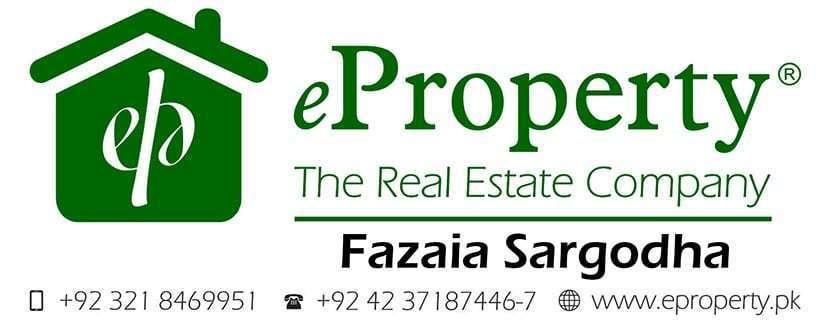 Fazaia Sargodha Plots & Houses for Sale
