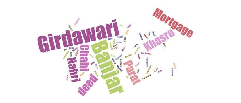Revenue Terminology - Patwar Khana   eProperty®