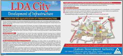 LDA City Development of Infrastructure