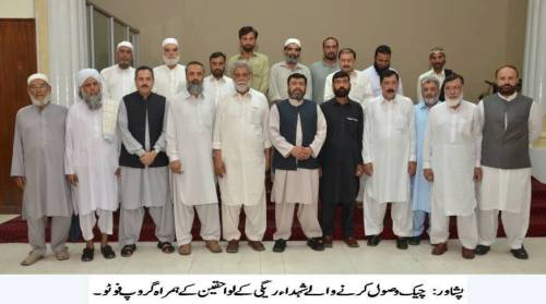 DHA Peshawar group photo with Regi Martyrs