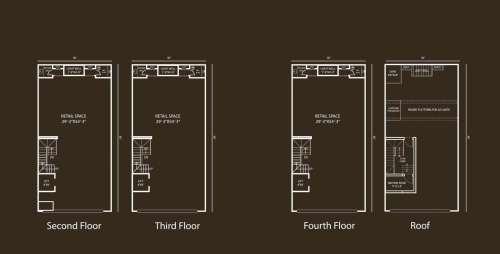 Defence Raya Fairways Commercial Center 8 Marla Commercial Floor Plan 1
