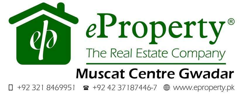 Muscat Center Gwadar Commercial Plots for Sale