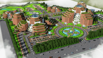 DHA Medical City Phase 8 Lahore Bird Eye View-1