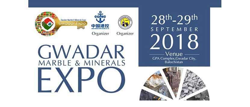 Gwadar Marbles & Minerals Expo Sep 2018