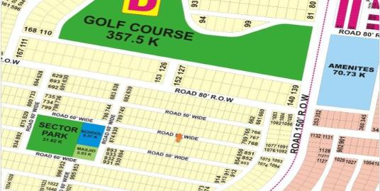DHA Lahore Plot for Sale Phase 9 Prism Sector D 1 Kanal # 779