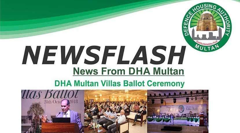 DHA Multan Villa Ballot Ceremony