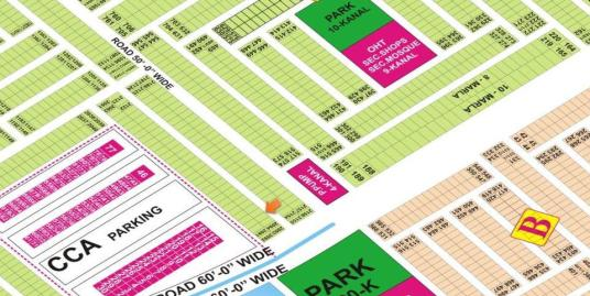 DHA Lahore Plot for Sale Phase 9 Town Sector A 5 Marla # 2096