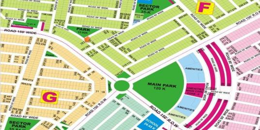 DHA Lahore Plot for Sale Phase 9 Prism Sector F 1 Kanal # 781