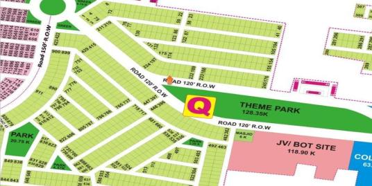DHA Lahore Plot for Sale Phase 9 Prism Sector Q 1 Kanal # 228
