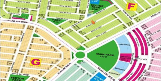 DHA Lahore Plot for Sale Phase 9 Prism Sector F 1 Kanal # 634