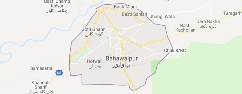 Bahawalpur Maps