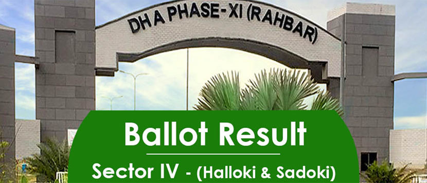 DHA Rahbar Sector 4 Balloting 28 June, 2019