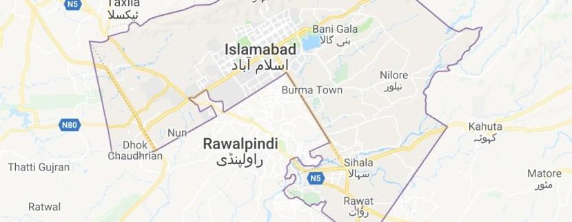 Islamabad Maps